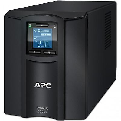 Bộ lưu điện: APC Smart-UPS C 2000VA LCD 230V - SMC2000I - Hàng Chính Hãng