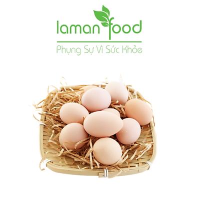 Trứng Gà Ta Thả Vườn - Laman Food - 10 trứng