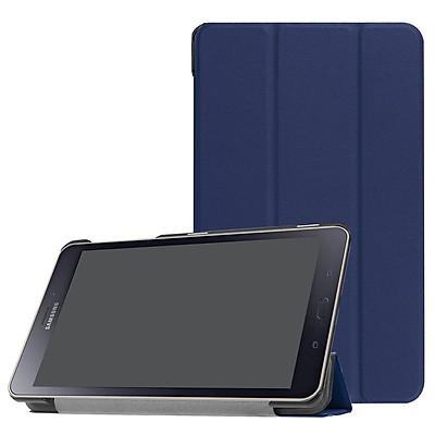 Bao Da Cover Cho Máy Tính Bảng Samsung Galaxy Tab A 8.0 (2017) T385 / T380  Hỗ Trợ Smart Cover