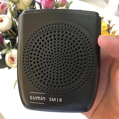 Máy trợ giảng Hàn Quốc Sumin SM18 có dây dùng cho giáo viên pin siêu bền, chống rè, chống nhiễu- Hàng Chính Hãng