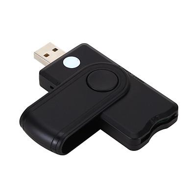 USB2.0 Smart Card Reader TF SD SIM Card Reader Bank Card ID EMV Card Reader Adapter