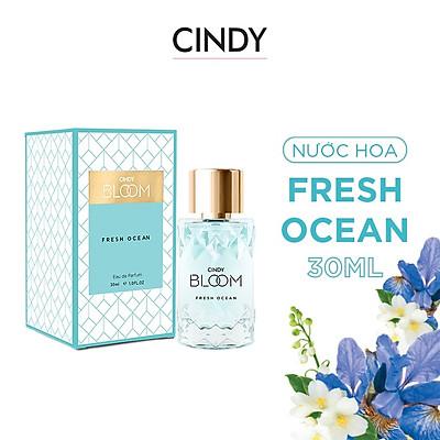 Nước hoa nữ Cindy Bloom Fresh Ocean mùi hương năng động trẻ trung 30ml chính hãng