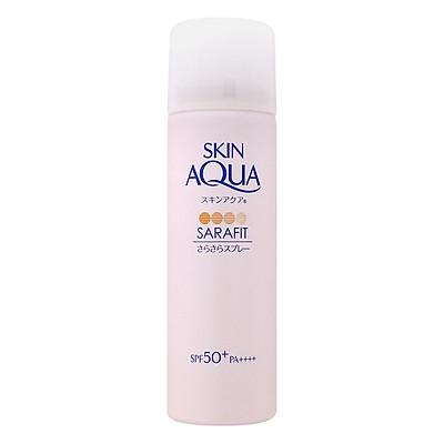 Xịt Chống Nắng Hương Hoa Skin Aqua Sara-Fit UV Spray Aqua Floral SPF50+ PA++++ (50g)