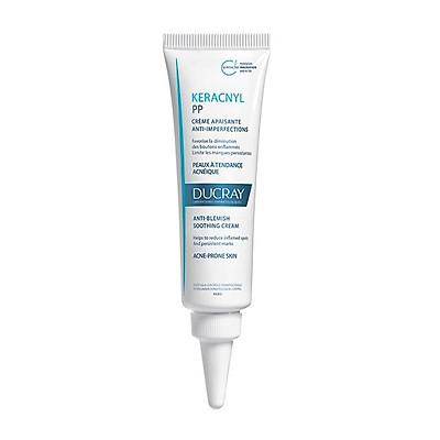 Kem dưỡng giảm viêm mụn Keracnyl PP Anti-Blemish Soothing Cream Ducray  30ml