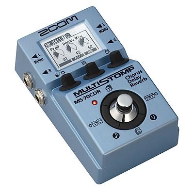 Thiết bị điều chỉnh hiệu ứng cho đàn ghita ZOOM MS 70CD - Hàng chính hãng
