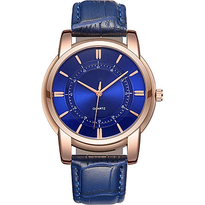 Quartz Watch Casual Watch Decorative 3 Colors PU Leather Pointer Students Decoration Watches