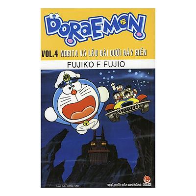Doraemon Tập 4: Nobita Và Lâu Đài Dưới Đáy Biển (Tái Bản)