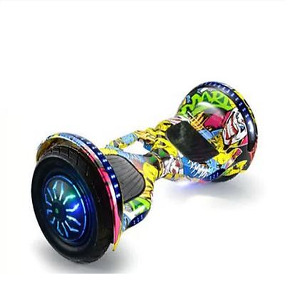 Xe điện cân bằng - xe điện tự cân bằng, có đèn nháy, nghe nhạc bluetooth ( Giao mầu ngẫu nhiên )