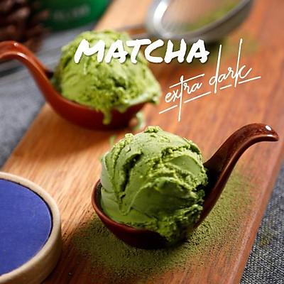 [Chỉ Giao HCM] Kem Matcha Extra Dark - hộp giấy kraft 473ml
