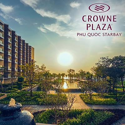 Gói 3N2Đ Crowne Plaza Phú Quốc Starbay Resort 5* - Buffet Sáng, Hồ Bơi, Đón Tiễn Sân Bay, Nhiều Ưu Đãi Hấp Dẫn Mới Khai Trương