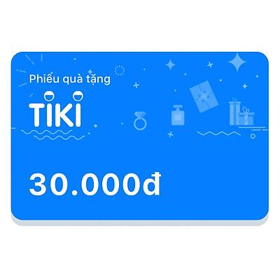 Phiếu Quà Tặng Tiki 30.000đ