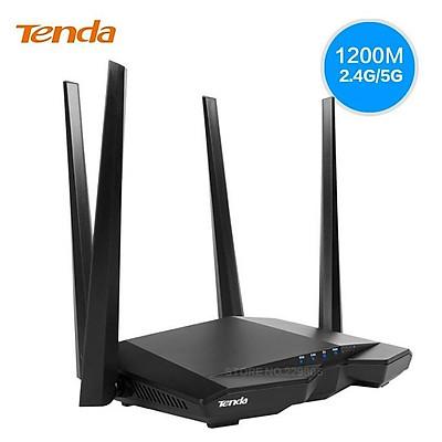 Bộ phát wifi băng tần kép 1200Mbps AC6 Tenda - Hàng Chính Hãng