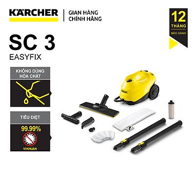 Máy Làm Sạch Bằng Hơi Nước Karcher SC3 Easyfix