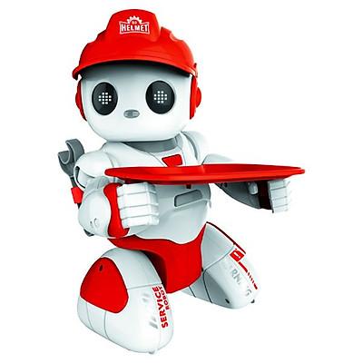 Đồ Chơi Vecto Chú Robot Quản Gia Thông Thái (Đỏ)  VT18083/RED
