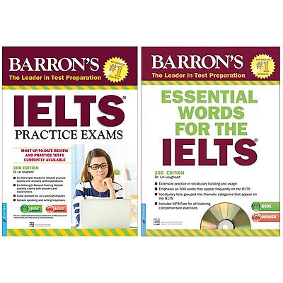 Combo : Ngoại Ngữ IELTS (2 Cuốn) : Barron'S_IELTS Practice Exams 3rd Edition (Tặng Kèm CD) + Essential Words For The IELTS 3rd Edition (Tặng Kèm 1CD)