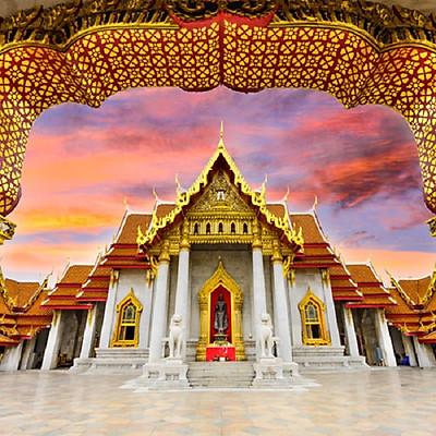 [HCM] Tour Thái Lan 5N4Đ: Bangkok - Pattaya - Đảo Coral, KS 4 Sao, Khởi Hành Tháng 02, 03, 04, Lễ 30/4