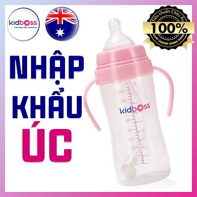 Bình Sữa Kidboss PP Cổ Rộng - 300ml