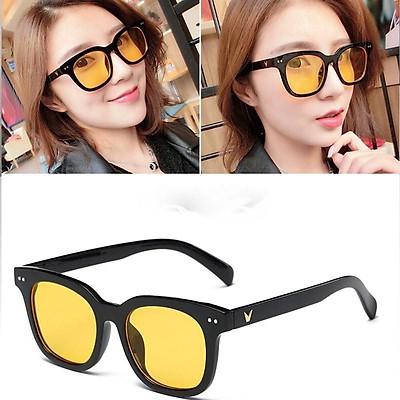 Mắt kính râm chữ V gọng nhỏ nhiều màu,kính mát teen nam nữ Hàn Quốc thời trang
