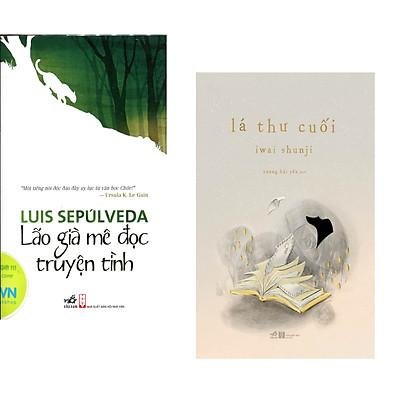 Combo 2 cuốn sách: Lá Thư Cuối + Lão già mê đọc truyện tình