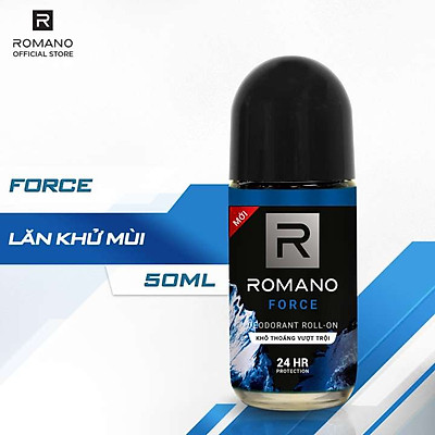 Lăn Khử Mùi Romano Force 50ml - 1412049