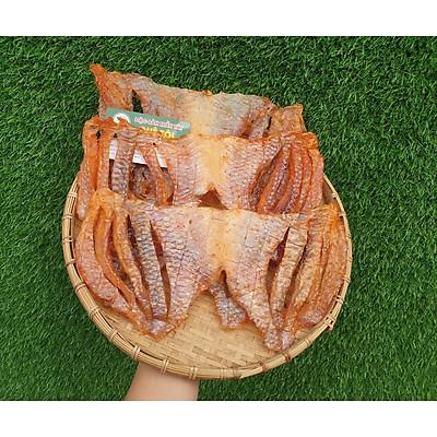 Khô cá diêu hồng phi lê ướp sẵn - Khô cá diêu hồng phi lê 2 nắng - Đặc sản Đồng Tháp - Ship toàn quốc