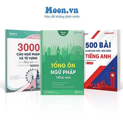 Combo 3 sách ID ôn luyện Tiếng Anh cô Trang Anh