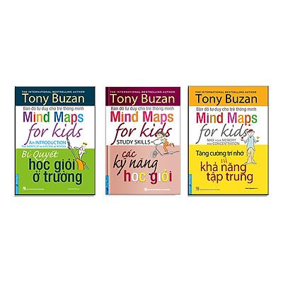 Cẩm nang dành cho Học sinh - Sinh viên 2 (Tony Buzan Bí quyết học giỏi ở trường + Các kỹ năng học giỏi + Tăng cường trí nhớ và khả năng tập trung) Tái bản 2020