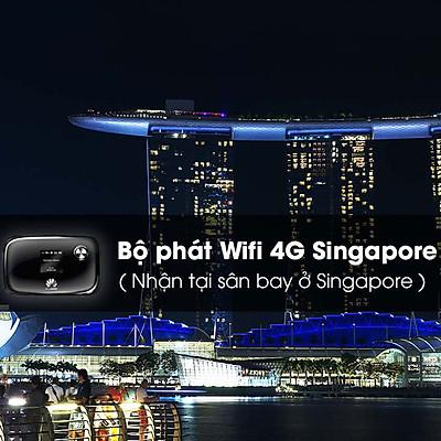 Thuê Bộ Phát Wifi 4G Singapore 4 Ngày