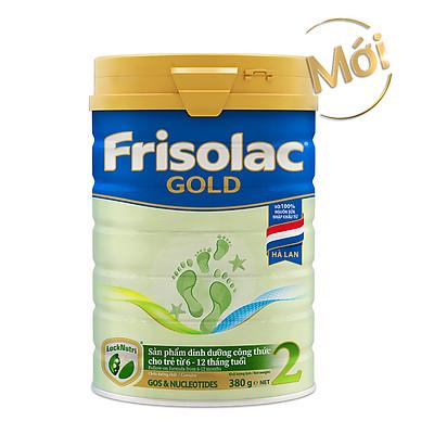 Sữa Bột Frisolac Gold 2 380g Dành Cho Trẻ Từ 6 - 12 Tháng Tuổi