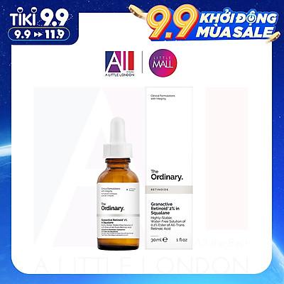 Tinh chất kháng mụn, lão hoá Retinol The Ordinary Granactive Retinoid 2% Emulsion / Squalane