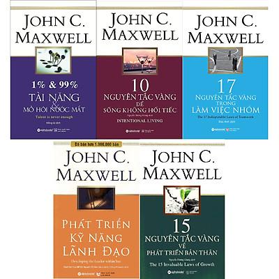 Combo Phát Triển Toàn Diện Bản Thân Của John C.Maxwell ( 1% & 99% – Tài Năng & Mồ Hôi Nước Mắt + 10 Nguyên Tắc Vàng Để Sống Không Hối Tiếc + 17 Nguyên Tắc Vàng Trong Làm Việc Nhóm + 15 Nguyên Tắc Vàng Về Phát Triển Bản Thân + Phát Triển Kỹ Năng Lãnh Đạo ) ( Quà Tặng: Cây Viết Kute' )