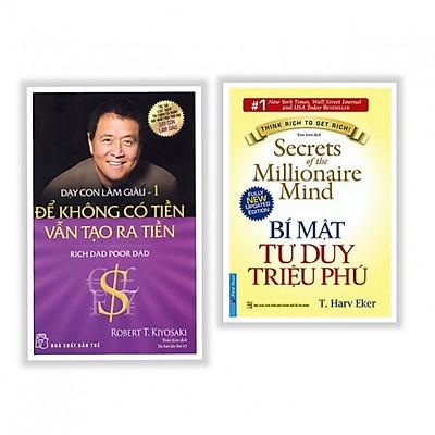 Combo sách hay về làm giàu : Để không có tiền vẫn tạo ra tiền + Bí mật tư duy triệu phú - Tặng kèm bookmark thiết kế