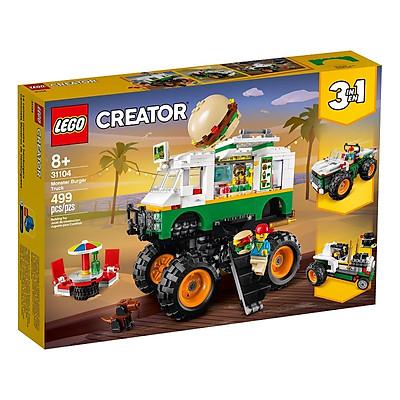 Mô hình đồ chơi lắp ráp LEGO CREATOR Xe Tải Burger Lưu Động 31104 ( 499 Chi tiết )