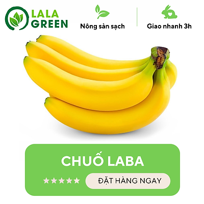 Chuối Laba - 1kg