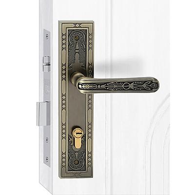 Ổ khoá cửa tay gạt Việt Tiệp 04922 hợp kim giả cổ dành cho cửa chính, cửa đi