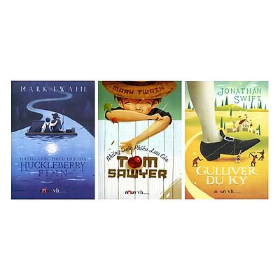 Combo 3 Cuốn Gulliver Du Ký + Những Cuộc Phiêu Lưu Của Huckleberry Finn + Những Cuộc Phiêu Lưu Của Tom Sawyer (Tái Bản)