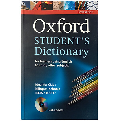 Oxford Student's Dictionary For Learners Using English To Study Other Subjects