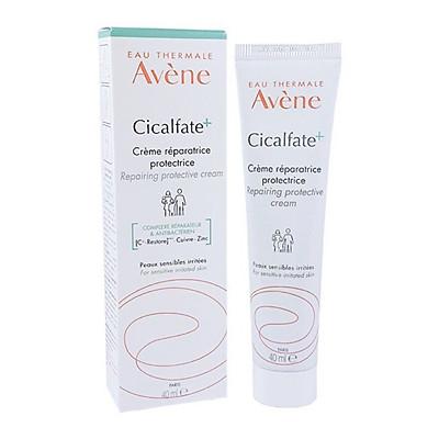Kem Phục Hồi Da Làm Lành Da, Chống Nhiễm Khuẩn Cicalfate Cream 40ml Avene