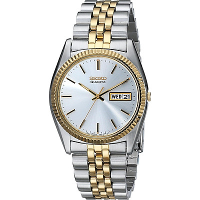 Seiko Men's SGF204 Stainless Steel Two-Tone Watch