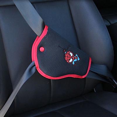 Miếng đệm dán thu gọn dây đai an toàn cho xe hơi, ô tô chống vướng mặt cổ cho trẻ em, bé nhỏ