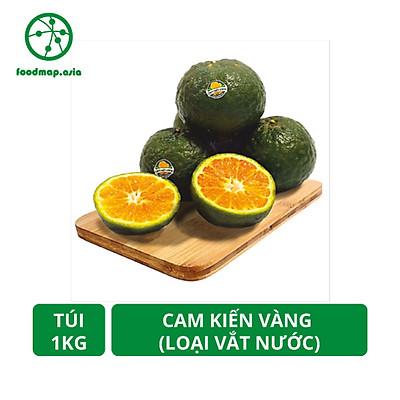 [Chỉ Giao HCM] Túi 1Kg - Cam Kiến Vàng Vĩnh Long - Loại Vắt Nước (7-8 quả/Kg) - Foodmap