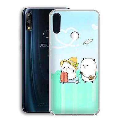 Ốp lưng dẻo cho điện thoại Zenfone Max Pro M2 - 01219 7880 LOVELY08 - Hàng Chính Hãng