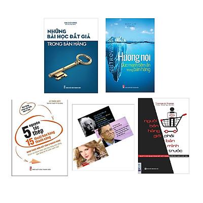 Combo 4 Kinh Thánh Bán Hàng(5 Nguyên Tắc Thép và 15 Thuật Bán Hàng Thành Công + Hướng Nội Sức Mạnh Tiềm Ẩn Trong Bán Hàng + Những Bài Học Đắt Giá Trong Bán Hàng + Người bán hàng giỏi phải bán mình trước - Nguyên tắc quan trọng để trở thành người bán hàng xuất sắc)Tặng Kèm 4 Postcard Những Câu Nói Của Người Nổi tiếng