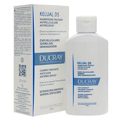 Dầu Gội Hỗ Trợ Trị Gàu Nặng Kelual Ds Shampoo Ducray 100ml - 100795804