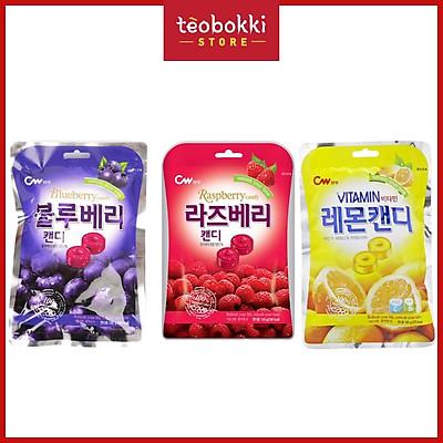 Kẹo chanh vitamin CW 3 vị 100g