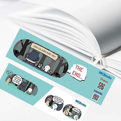 Bookmark - Thẻ Đánh Dấu Trang Hình Chipi Đáng Yêu Cho Bé
