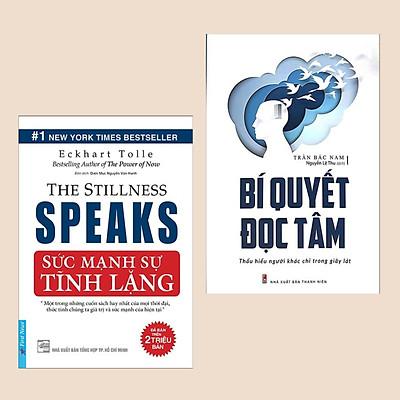 Combo 2 Cuốn: Sức Mạnh Của Sự Tĩnh Lặng + Bí Quyết Đọc Tâm - Thấu Hiểu Người Khác Chỉ Trong Giây Lát (Sách Tâm Linh & Kỹ Năng Giao Tiếp Phi Ngôn Ngữ)