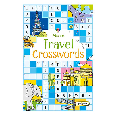 Flashcards tiếng Anh - Usborne Travel Crosswords