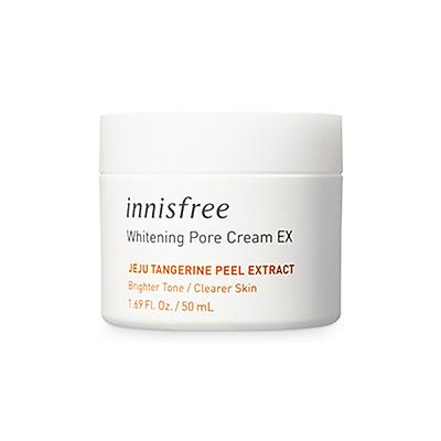 Kem Dưỡng Làm Sáng Da Từ Vỏ Quýt Tươi Jeju Innisfree Whitening Pore Cream (50ml)