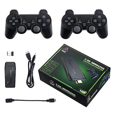 Bộ máy game stick 4K PS3000 tay cầm không dây - Máy chơi game điện tử HDMI hai người chơi kết nối TV 32G/64G Máy chơi game khác tay cầm joystick - Tặng file game đua xe thú.